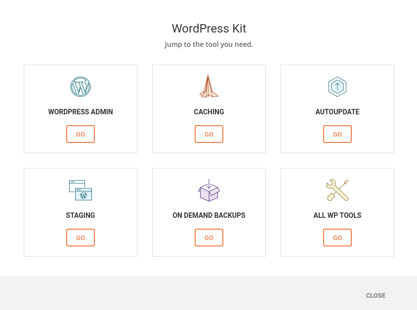 "Le kit ""WordPress"" de SiteGround"